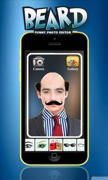 Man Face Editor App:Cool Beard,Hairstyle,Mustache screenshot 2