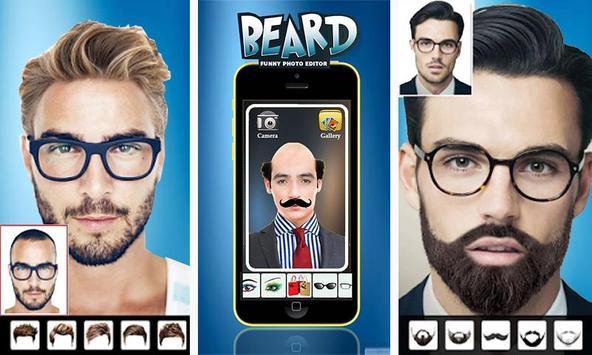 Man Face Editor App:Cool Beard,Hairstyle,Mustache screenshot 3