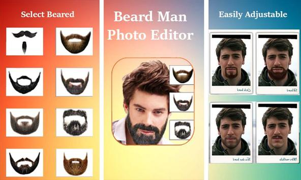 Man Face Editor App:Cool Beard,Hairstyle,Mustache screenshot 4