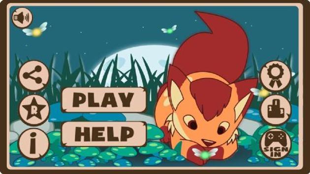 Magic Fox - Adventure Run poster