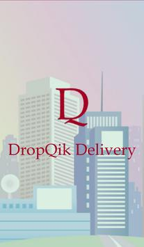 DropQik Delivery poster