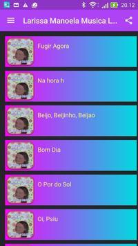 Larissa Manoela Musica apk screenshot