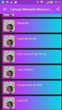 Larissa Manoela Musica screenshot 2