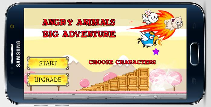 Angry Animals: Big Adventure poster
