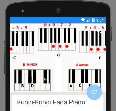 Belajar Kunci Piano Pour Android Telechargez L Apk