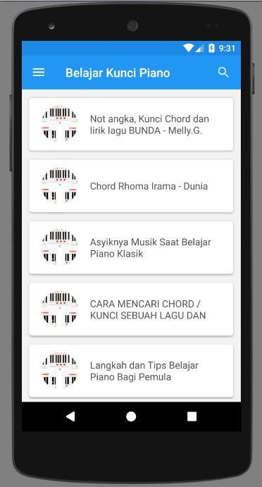 Belajar Kunci Piano For Android Apk Download