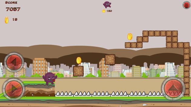 Crazy Monster City Run screenshot 3