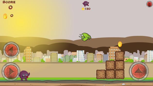 Crazy Monster City Run screenshot 1
