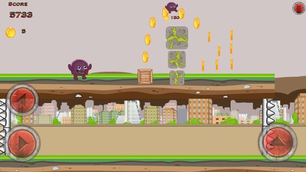 Crazy Monster City Run screenshot 2