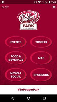 Dr Pepper Park Roanoke Events poster