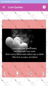 Love Pictures Romantic Quotes screenshot 1
