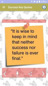 Success Status Images and Picture Quotes Messages screenshot 5