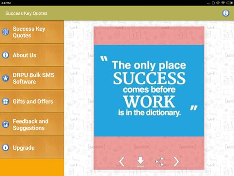 Success Status Images and Picture Quotes Messages screenshot 8