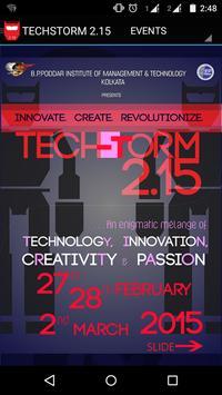 TECHSTORM2.15 poster