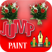 Jump Paint - Roses & Flowers icon