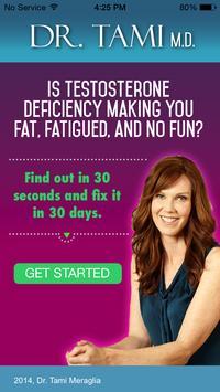 Hormone Secrets - Dr Tami MD poster
