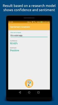 Sentiment Analysis screenshot 1
