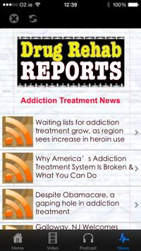 Addiction Treatment Report apk screenshot