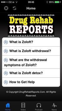 Zoloft Withdrawal & Detox poster