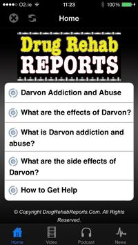 Darvon Addiction and Abuse poster