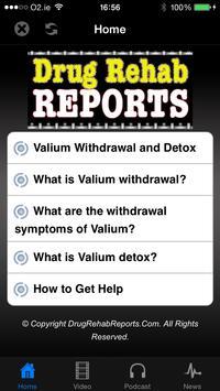 Valium Withdrawal & Detox poster