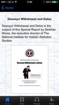Desoxyn Withdrawal & Detox screenshot 1