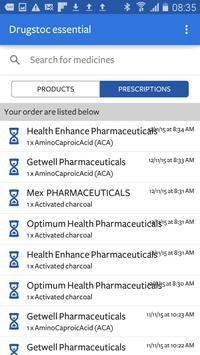 DrugStoc Essentials apk screenshot