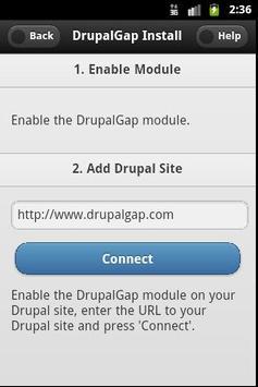DrupalGap apk screenshot