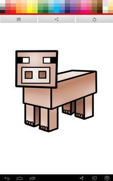 Minecraft Coloring screenshot 5