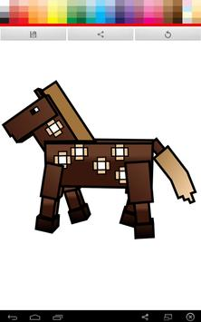 Minecraft Coloring screenshot 1