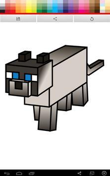 Minecraft Coloring screenshot 2