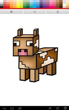 Minecraft Coloring screenshot 3