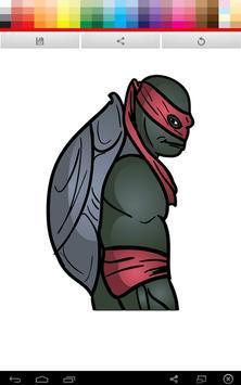 Ninja Turtles Coloring screenshot 4
