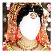 Girl Wedding Dress Dulhan Dress Face Changer icon