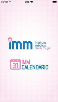 IMM Calendario poster