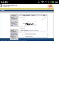 Adhar Card Update apk screenshot