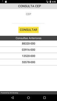 Consulta CEP screenshot 1