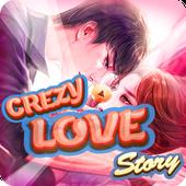 crazy love story icon