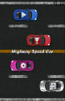 Highway Speed Car poster