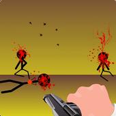 Stickman Shopping Shooter icon