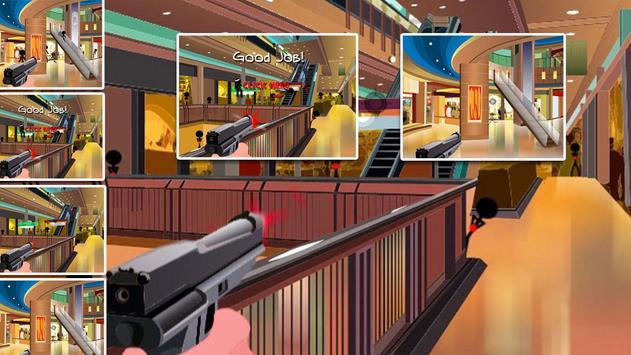 Stickman Shopping Shooter screenshot 1
