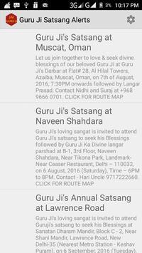 Guru Ji Satsang Alerts apk screenshot