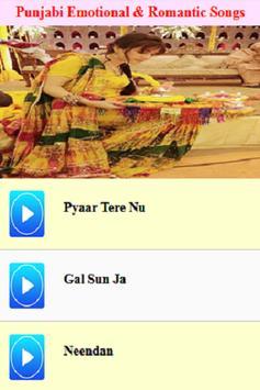 Punjabi Emotional & Romantic Songs screenshot 4