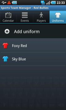 Sports Team Manager Lite screenshot 5