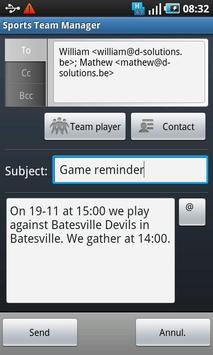 Sports Team Manager Lite screenshot 6