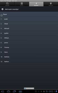 Sports Team Manager Lite screenshot 12