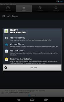 Sports Team Manager Lite screenshot 15