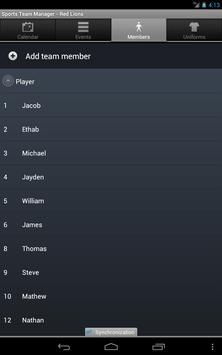 Sports Team Manager Lite screenshot 19
