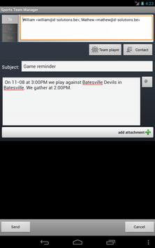Sports Team Manager Lite screenshot 21