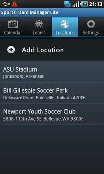 Sports Team Manager Lite screenshot 3